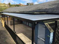 New Canopy for Goodrich CofE Primary School