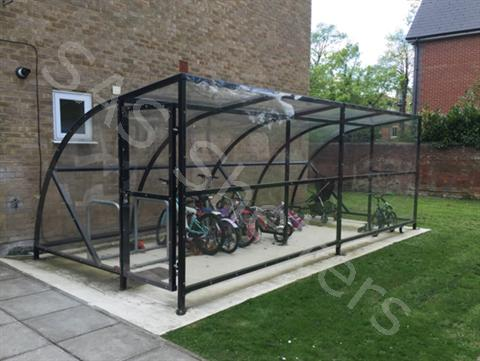 SAS Midi Cycle/Buggy Shelter | SAS Shelters