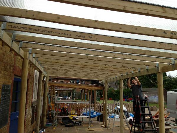Custom Built Wooden Canopy & Custom Built Wooden Canopy | Wooden Shelters | SAS Shelters