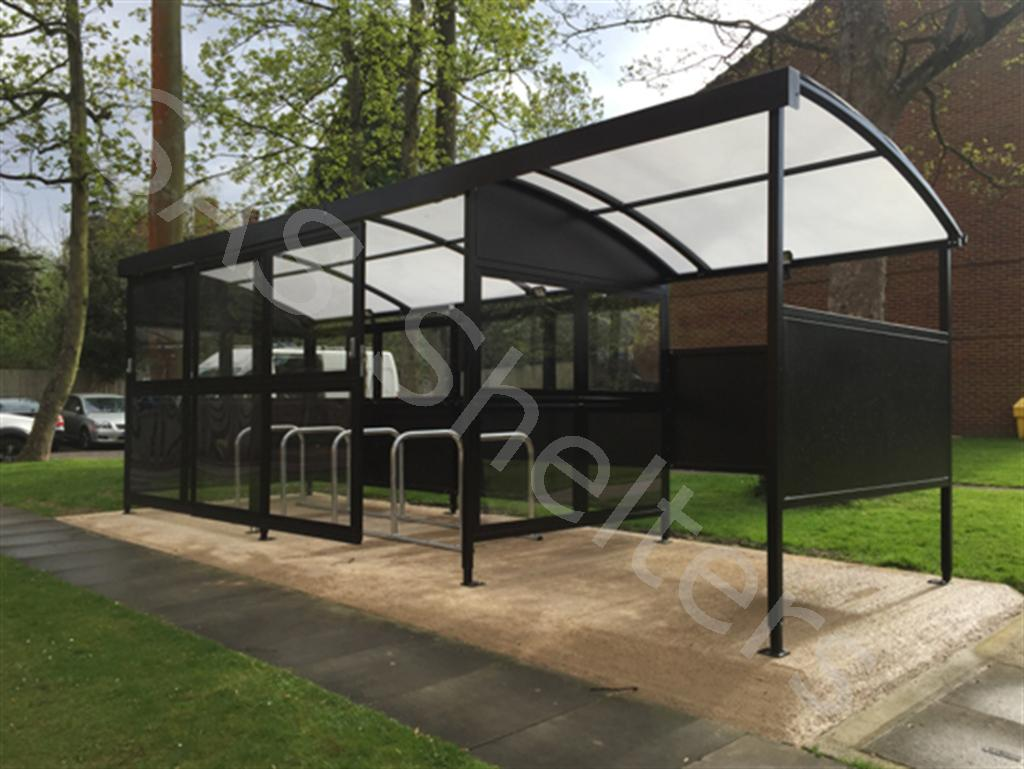 Jupiter Cycle and Smoking Shelter | SAS Shelters