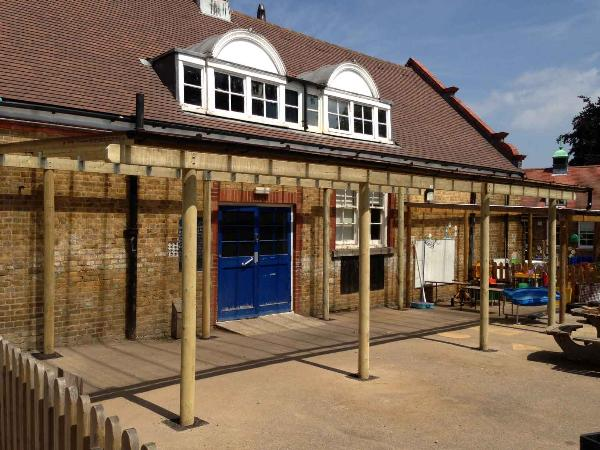 Lean-to Wooden Canopy & Lean-to Wooden Canopy | School Canopies | SAS Shelters