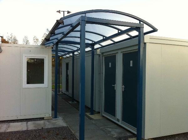 Covered Walkways Canopies Car Ports And Shades