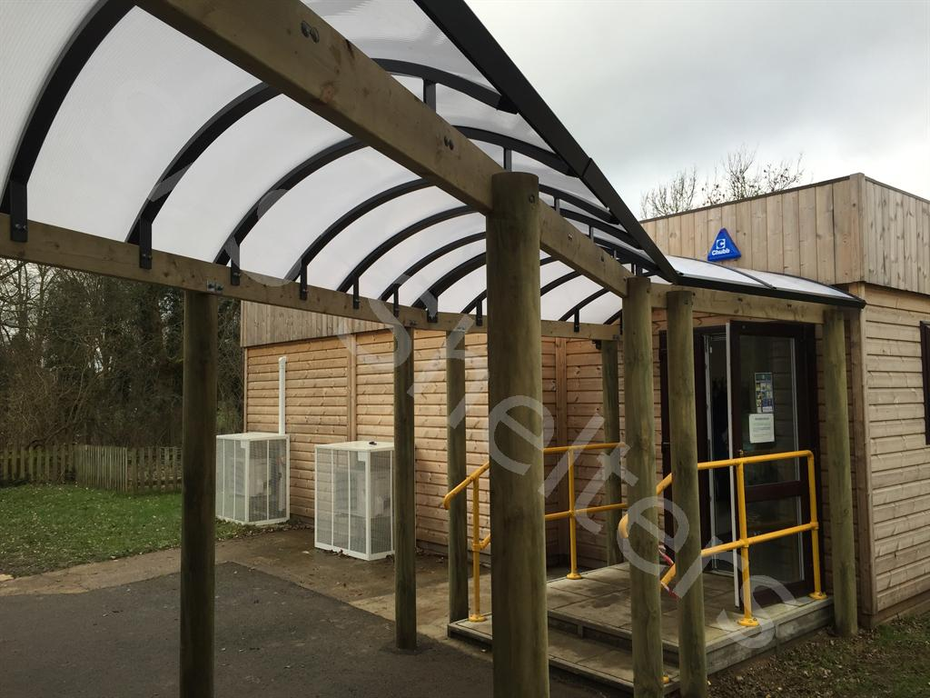 Reading Walkway | SAS Shelters
