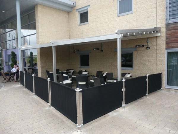 Electric Awning & Commercial Awnings | Shop Awnings - SAS Shelters in Luton ...