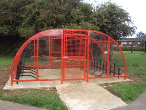 SAS Compound Cycle Shelter | SAS Shelters