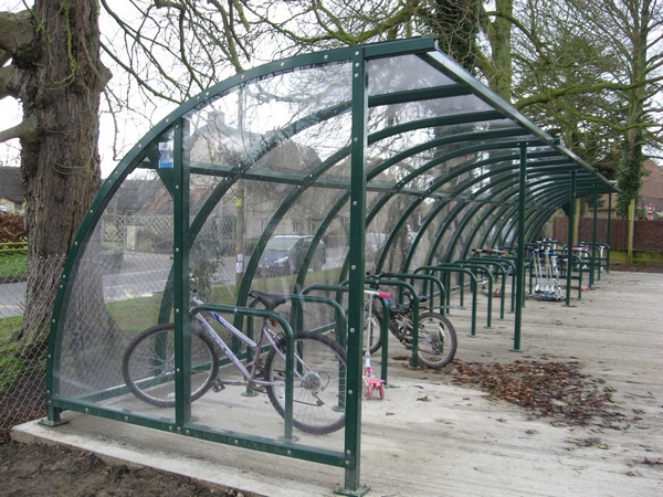 SAS Brighton Cycle Shelter | SAS Shelters