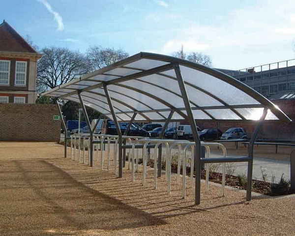Cambridge Cycle Shelter | SAS Shelters