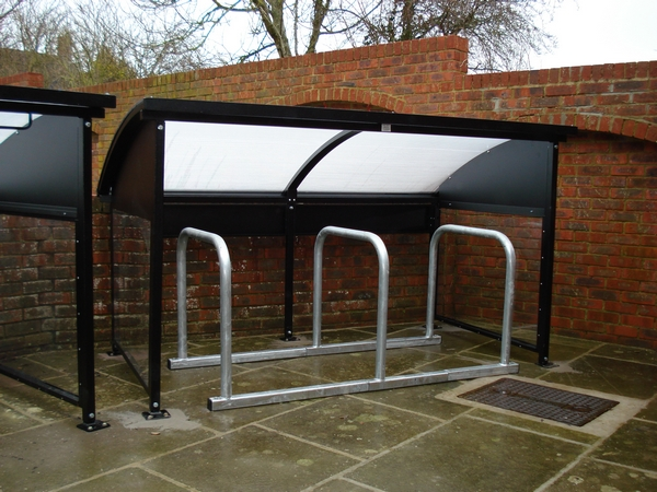 Darby Mini Cycle shelter | SAS Shelters