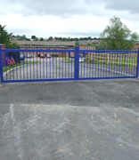 Automatic or Manually Operated Security Gates