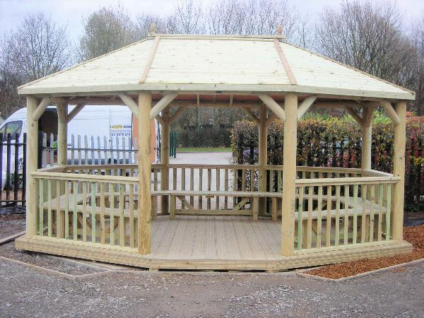 Outdoor Wooden Shelter | SAS Shelters