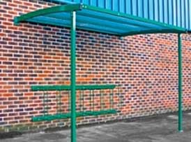 Simple Leanto Cycle Shelter | SAS Shelters