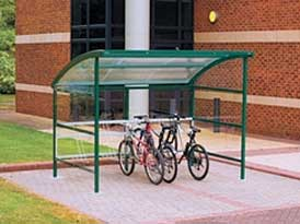Premier Cycle Shelter | SAS Shelters