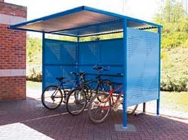 Traditional Cycle Shelter | SAS Shelters