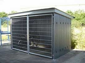 AX3 Cycle Shelter | SAS Shelters