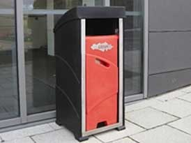 Key Free Litter Bin | SAS Shelters