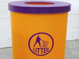 Popular Litter Bin | SAS Shelters