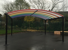 SAS Shelters Design New Rainbow Canopies for Nurseries