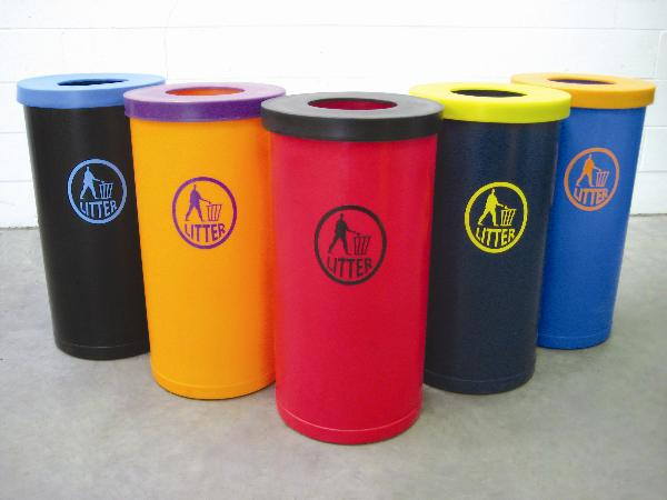 Popular Twin Litter Bins | SAS Shelters