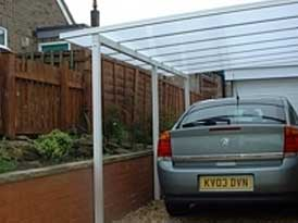 Lean-to Carports | SAS Shelters