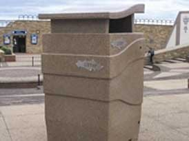 Imperial litter Bins | SAS Shelters