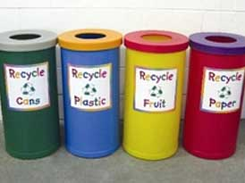 Popular Recycling Bins | SAS Shelters