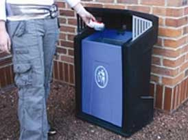 Provincial Litter Bins | SAS Shelters